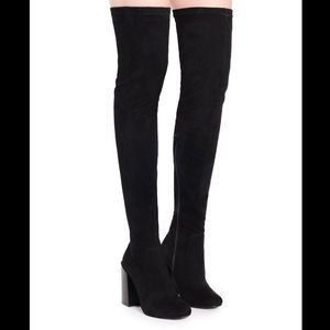 Jeffrey Campbell Perouze Knee High Boots
